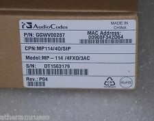 AudioCodes MP114/4O/SIP