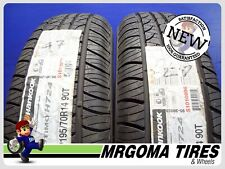 2 NEW 195/70/14 HANKOOK OPTIMO H724 M+S TIRES MERCEDES S-CLASS 90T 1957014