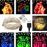 50 100 LED Fairy String Battery/USB Micro Rice Wire Lights Party Xmas Decor A+