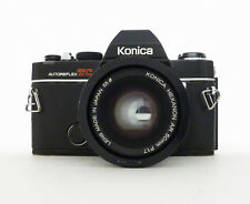 Konica AutoReflex TC 35mm SLR Film Camera with 50 mm Hexanon Lens