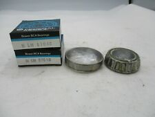 NEW FEDERAL MOGUL BCA BOWER LM67048+LM67010 BEARING CONE+CUP MADE IN JAPAN