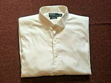 """POLO by RALPH LAUREN    WHITE LONG SLEEVE   SHIRT    52"""" CHEST"""