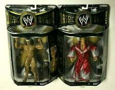 WWE CLASSIC SUPERSTARS JAKKS FIGURES:JIMMY SUPERFLY SNUKA,PAUL ORNDORFF NEW MOC