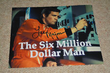 Lee Majors Signed Autographe 20x25 cm en personne Six Million Dollar Man, Colt