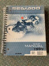 SeaDoo Shop Manual 1999 Gsx Gs Gsi Gta Spx Xp Limited