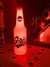 NCAA Montana Grizzlies Football 12oz Beer Bottle Light LED March Madness
