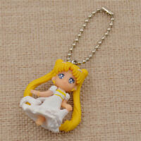 Sweet Sailor Moon Keychain Wedding Pincess Figure Accessories  Anime Gifts