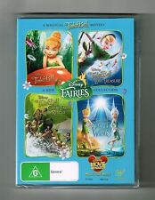 Tinker Bell (4-Movie Collection) Dvd Disney 4-Disc Set Brand New & Sealed