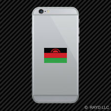 Malawian Flag Cell Phone Sticker Mobile Malawi MWI MW