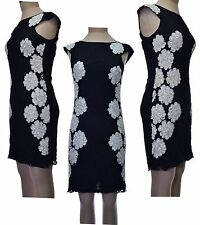 Lace Boat Neck Party Floral Dresses for Women