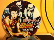 "DAVID BOWIE - DIAMOND DOGS 12"" PICTURE DISC PROMO SINGLE LP RARE JAPAN"