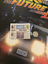 Hot Toys Back to the Future 2 Doc Brown Newspaper loose 1/6th scale