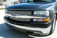 Grille-MX Upper 2pc Insert GRILLCRAFT fits 01-02 Chevrolet Silverado 2500 HD