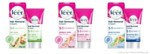 (Set of - 2) Veet 5 in 1 Skin Benefits Hair Removal Cream -50g Each Select Pack