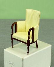 412 Vintage Dollhouse Miniature FANTASTIC MERCHANDISE Armchair 2522 Yellow