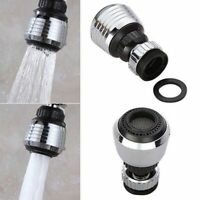 Stainless Steel Adjustable 360Rotating Water Saving Tap Nozzle Filter Diffuser
