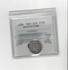 1921  Mercury Silver ¢10 Cent, Coin Mart