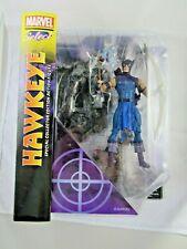 "Marvel Diamond Select Hawkeye 7"" Avengers Comics Action Figure Clint Barton NIP"
