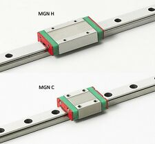 MGN15 LINEAR RAIL 250 mm + MGN15 H or C BLOCK