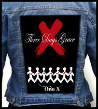 THREE DAYS GRACE - One X --- Giant Backpatch Back Patch