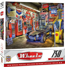 Puzzle - Jewel Of The Garage - 750 Piece Shelby Cobra Jigsaw Puzzle * Free Ship!