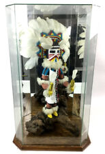 Paja Signed Butterfly Maiden Kachina W/ Display Lot 1042