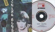 Fancy CD-SINGLE CHINA BLUE (c) 1987  CARDSLEEVE
