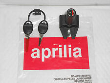 NEW GENUINE APRILIA SONIC 50 AIR + H20 98-08 SADDLE LOCK AP8202059