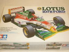 Tamiya un made plastic kit of a 1993 Lotus 107b, ford V8, Parts sealed in bags