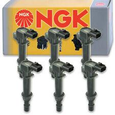 6 pcs NGK Ignition Coil for 2002-2008 Jeep Liberty 3.7L V6 - Spark Plug Tune vk