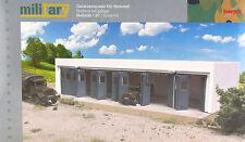 Herpa Military 745819 - 1:87: Gebäudebausatz Kfz-Werkstatt - NEU + OVP