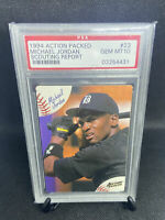 💎 MINT Michael Jordan 1994 Action Packed Scouting Report #23 rookie RC PSA 10