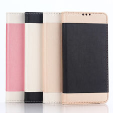 Leather Wallet Case Hybrid Card Slot Flip Cover Stand for Samsung Galaxy Note 5