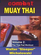 Combat Muay Thai #2 Pad Workout Dvd Walter Sleeper Michalowski