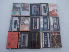 Vintage Audio Music Cassette Tape Lot of 15 TREASURE HUNT LOT