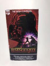 VHS Star Wars Revenge Of The Jedi 1983 • Custom Fan Art Display Piece