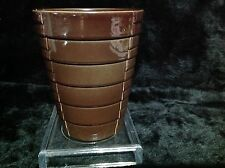 Soendgen Keramik Pottery Brown Orchid Pot Made In Germany 233/13