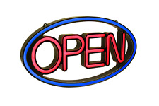Pro-Lite NEON LED OPEN Sign for Commercial Businesses & Restaurants