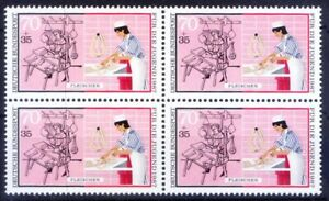 Germany 1987 MNH Blk 4, Trades, Professions, Butcher