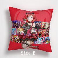 love live!nishikino maki Anime Manga two sides Pillow Cushion Case Cover 981 A