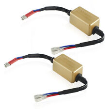 2x H15 LED Headlight Canbus Anti Flicker Error Free Resistor Canceller Decoder