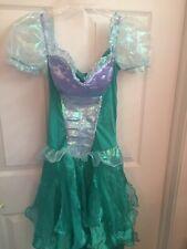 Disney Ariel Little Mermaid Costume Adult Size Small 2-4 Slight Flaw Repairable