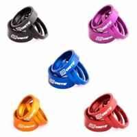 """Unite Headset Spacers - All Colours - 1 1/8"""" Anodised Alloy Mountain Bike MTB"""