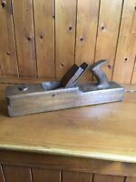 Vintage Large Carpenters Wooden Block Plane - Buck 242 Tottenham Ct Rd