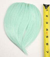 7'' Short Clip on Bangs Mint Green Cosplay Wig Hair Extension Accessory NEW