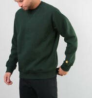 Felpa girocollo uomo CARHARTT WIP  Chase Sweat I026383 Loden Verde List.75€