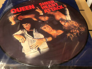 Queen Sheer Heart Attack Limited Edition Lp Picture Disc Rare