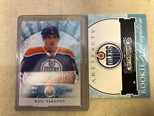 2012-13 UD ARTIFACTS NAIL YAKUPOV #/699 ROOKIE REDEMPTION OILERS B01