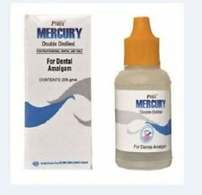 Pyrax Mercury Pure, Double Distilled (Bottle of 30 gm) FAST SHIPPING