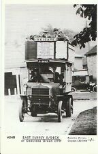 Transport Postcard- East Surrey Double Decker Bus at Godstone Green c1919 - 2359